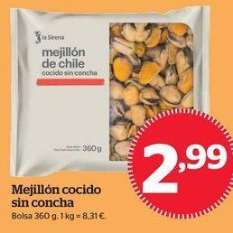 Oferta de Mejillones por 2,99€