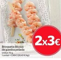 Oferta de Brochetas por 3€
