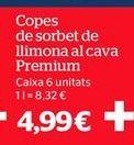 Oferta de Sorbete de limón por 4,99€