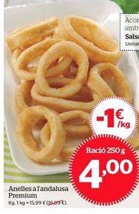 Oferta de Anillas a la andaluza Premium por 4€