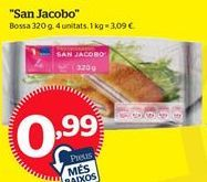 Oferta de San jacobos por 0,99€