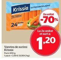 Oferta de Surimi por 1,2€