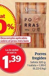 Oferta de Porras por 1,39€