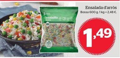 Oferta de Ensalada de arroz por 1,49€