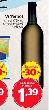 Oferta de Vino por 1,39€