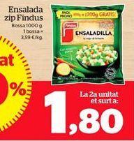 Oferta de Ensaladilla rusa congelada por 1,8€