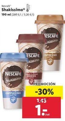 Oferta de Café Nescafé por 1€