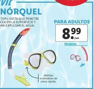 Oferta de Buceo Crivit por 8,99€