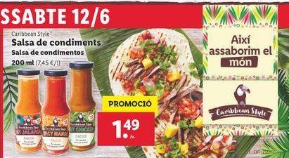 Oferta de Salsas por 1,49€