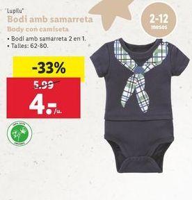 Oferta de Body bebé por 4€