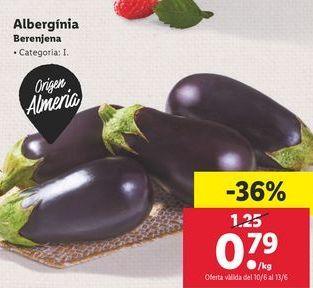 Oferta de Berenjenas por 0,79€