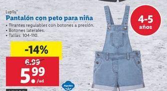 Oferta de Peto niña por 5,99€