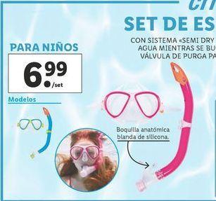 Oferta de Buceo Crivit por 6,99€