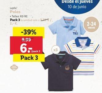 Oferta de Polo Lupilu por 6€