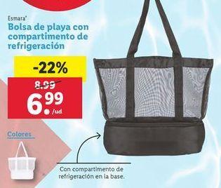 Oferta de Bolsa de playa esmara por 6,99€