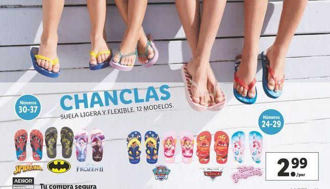 Oferta de Chanclas por 2,99€