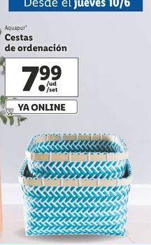 Oferta de Cesta por 7,99€