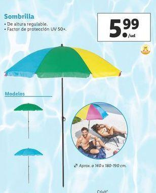 Oferta de Sombrilla por 5,99€