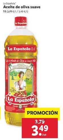 Oferta de Aceite La Española por 3,49€