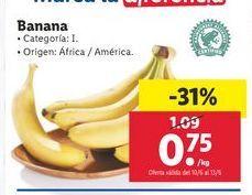Oferta de Bananas por 0,75€