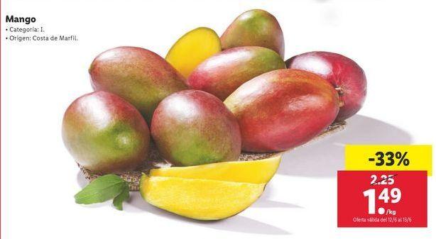 Oferta de Mangos por 1,49€