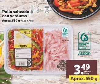 Oferta de Pollo por 3,49€