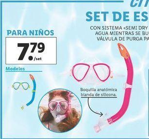 Oferta de Buceo Crivit por 7,79€