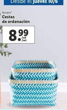 Oferta de Cesta por 8,99€