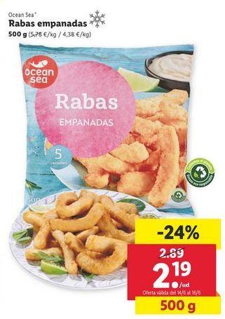 Oferta de Rabas ocean sea por 2,19€