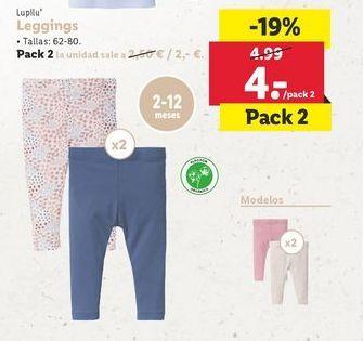 Oferta de Leggins bebé por 4€