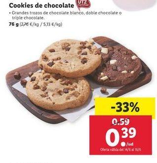 Oferta de Cookies por 0,39€
