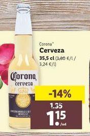 Oferta de Cerveza Corona por 1,15€