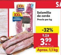Oferta de Solomillo de cerdo por 3,99€