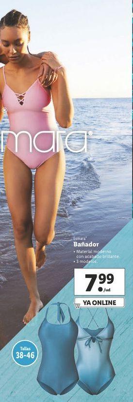 Oferta de Bañador mujer esmara por 7,99€