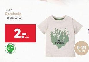 Oferta de Camiseta por 2€