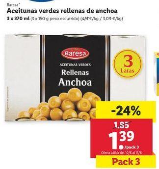 Oferta de Aceitunas por 1,39€