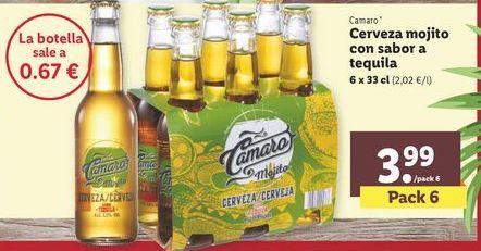 Oferta de Cerveza por 3,99€