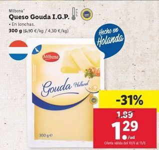 Oferta de Queso por 1,29€