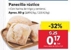 Oferta de Panecillos por 0,17€