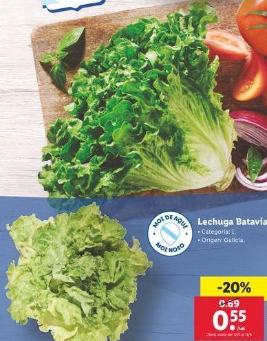 Oferta de Lechuga por 0,55€