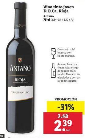 Oferta de Vino por 2,39€