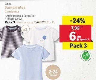 Oferta de Camiseta bebé por 6€