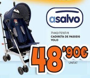 Oferta de Silla de paseo multiposiciones Asalvo por 48,9€