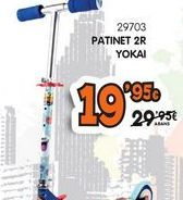 Oferta de Patinete por 19,95€