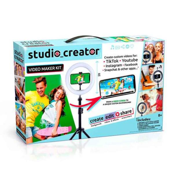Oferta de Estudio de Creación de Vídeos por 29,99€
