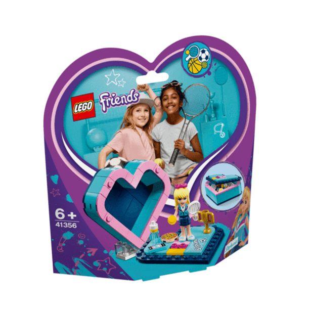 Oferta de Lego Friends Caja Corazón Stephanie- 41356 por 8€