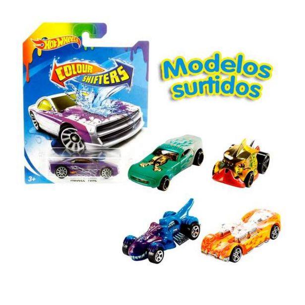 Oferta de Hot Wheels Color Shifters (Varios Modelos) por 9€