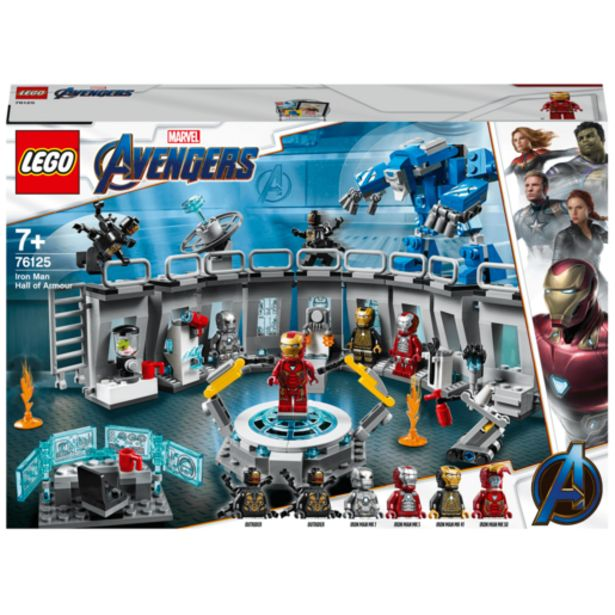 Oferta de Lego Superheroes Iron-Man Sala Armadura - 76125 por 64,99€