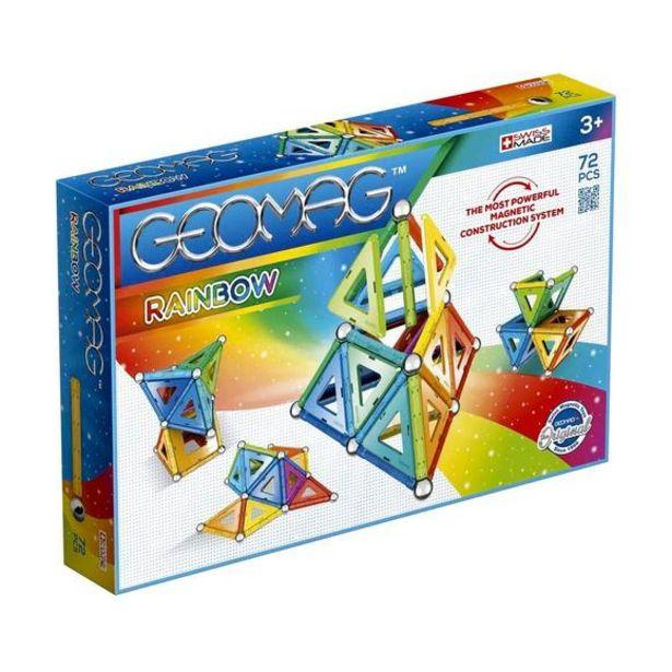 Oferta de Geomag Rainbow Set de 72 Piezas por 33,74€