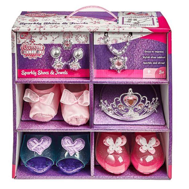 Oferta de Set de Princesas con Joyas y Zapatos por 27,99€